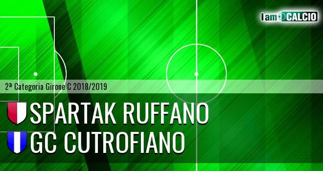 Spartak Ruffano - GC Cutrofiano
