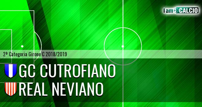 GC Cutrofiano - Real Neviano