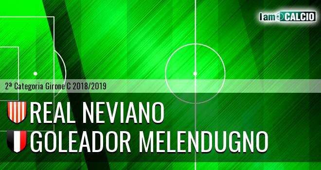 Real Neviano - Goleador Melendugno