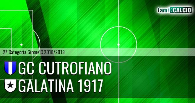 GC Cutrofiano - Galatina 1917