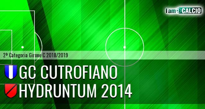 GC Cutrofiano - Hydruntum 2014