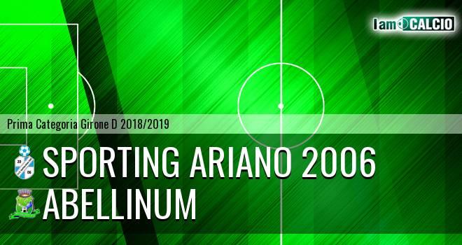 Sporting Ariano 2006 - Abellinum