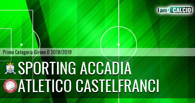 Sporting Accadia - Atletico Castelfranci