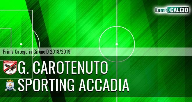G. Carotenuto - Sporting Accadia