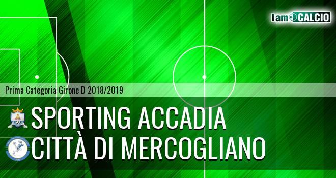 Sporting Accadia - Mercogliano 1999