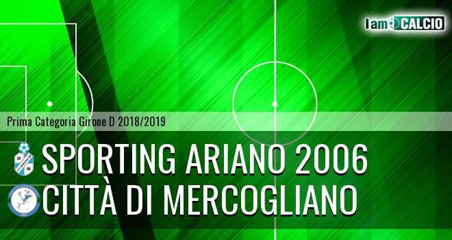 Sporting Ariano 2006 - Città di Mercogliano
