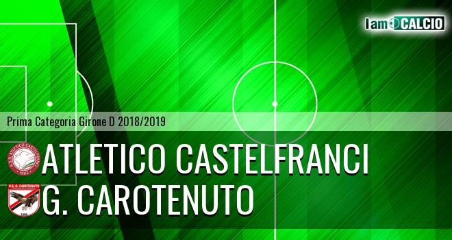 Atletico Castelfranci - G. Carotenuto