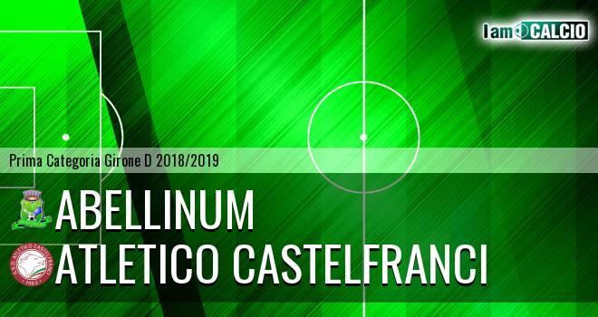 Abellinum - Atletico Castelfranci