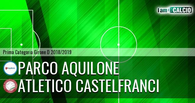 Parco Aquilone Cesinali - Atletico Castelfranci