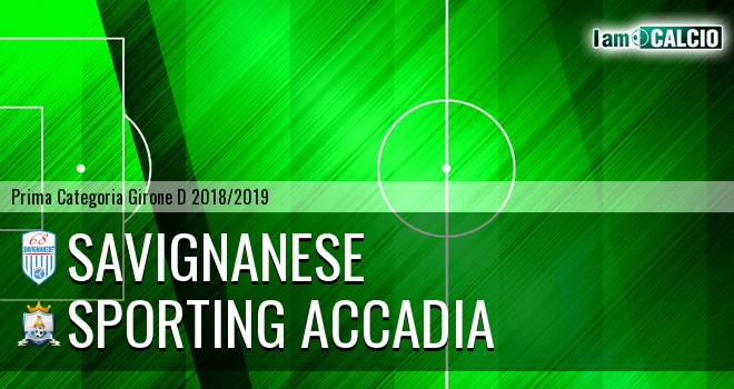 Savignanese - Sporting Accadia