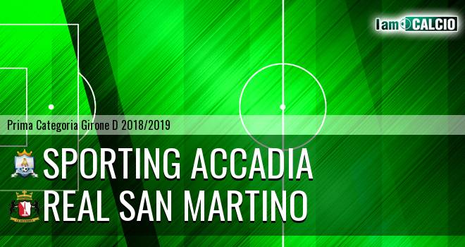 Sporting Accadia - Real San Martino Valle Caudina