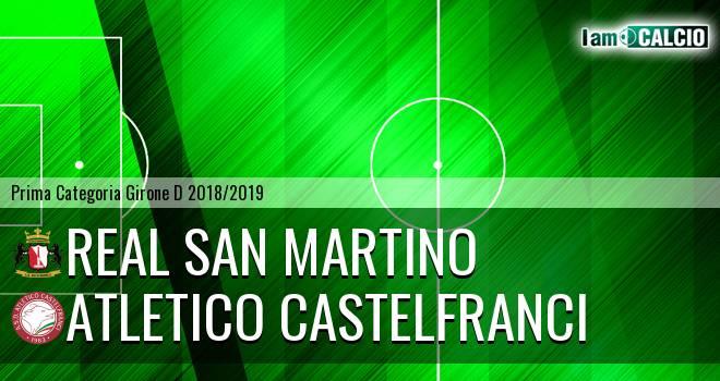 Real San Martino - Atletico Castelfranci