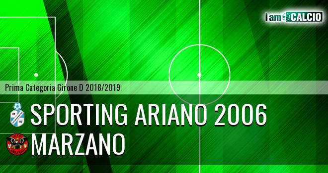 Sporting Ariano 2006 - Marzano