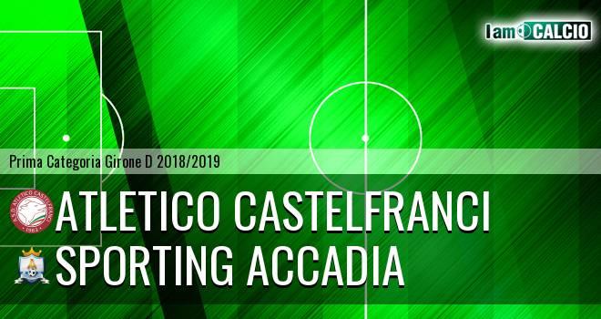 Atletico Castelfranci - Sporting Accadia