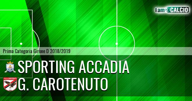 Sporting Accadia - G. Carotenuto