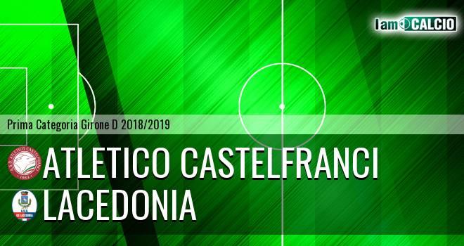 Atletico Castelfranci - Lacedonia