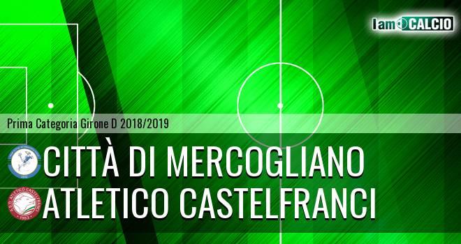 Città di Mercogliano - Atletico Castelfranci