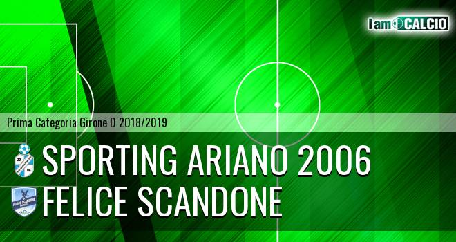 Sporting Ariano 2006 - Felice Scandone