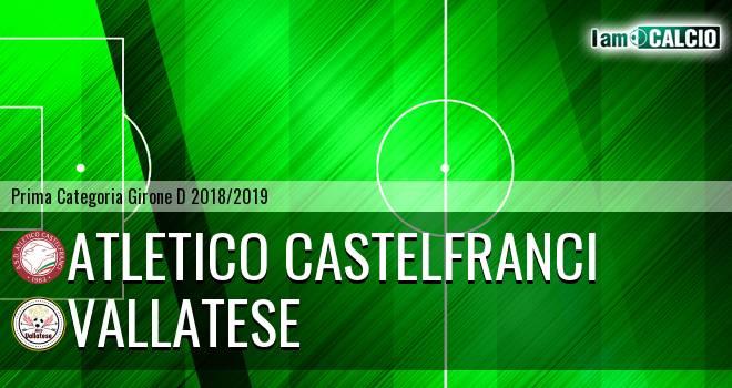Atletico Castelfranci - Vallatese