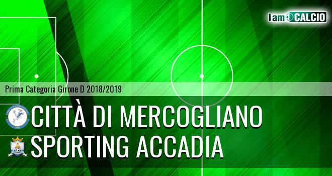 Città di Mercogliano - Sporting Accadia
