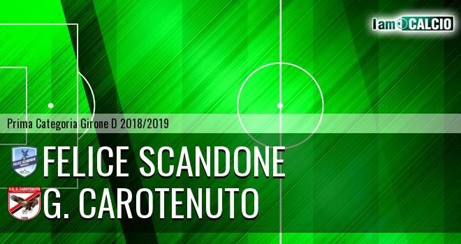 Felice Scandone - G. Carotenuto