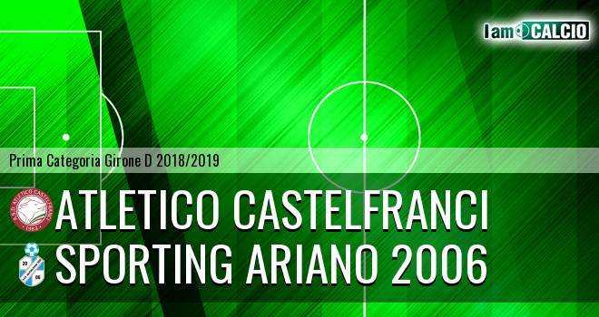 Atletico Castelfranci - Sporting Ariano 2006