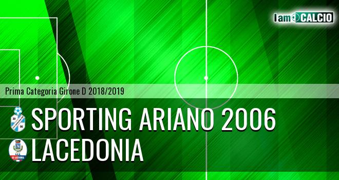 Sporting Ariano 2006 - Lacedonia