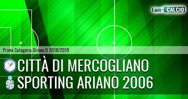Città di Mercogliano - Sporting Ariano 2006