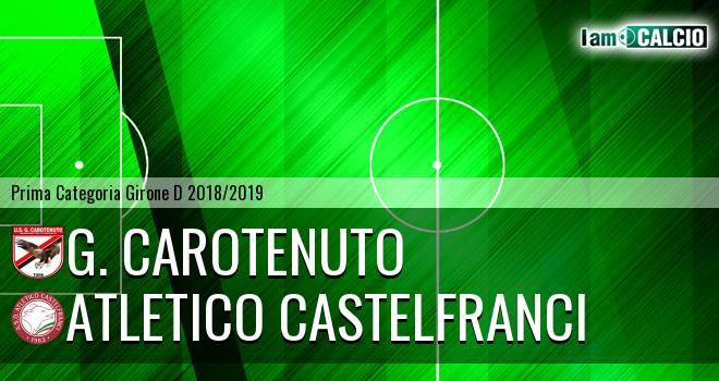 G. Carotenuto - Atletico Castelfranci