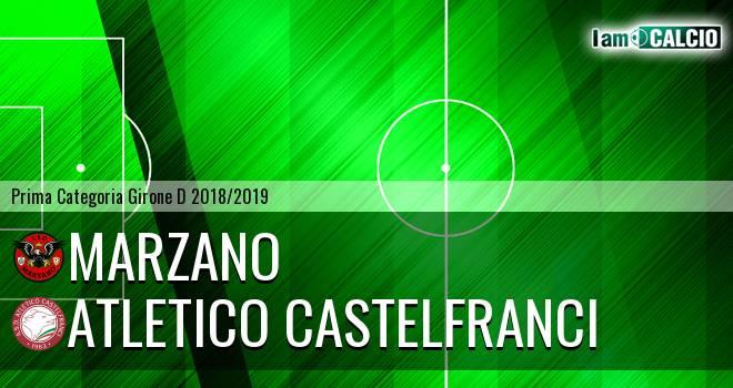 Marzano - Atletico Castelfranci