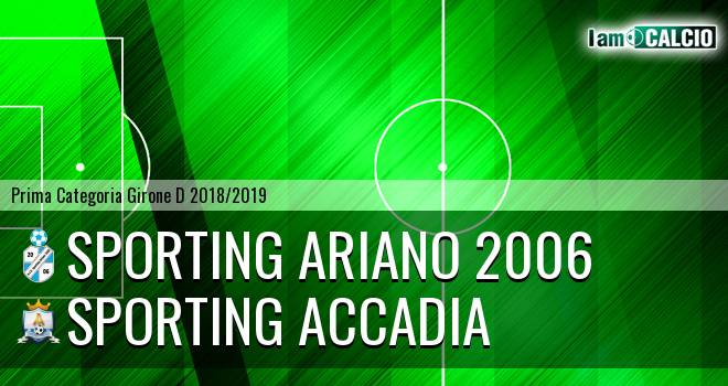 Sporting Ariano 2006 - Sporting Accadia