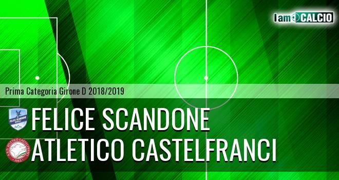 Felice Scandone - Atletico Castelfranci