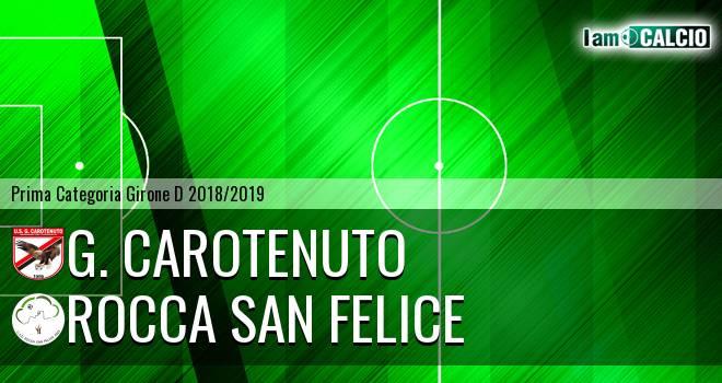 G. Carotenuto - Rocca San Felice