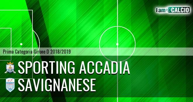 Sporting Accadia - Savignanese