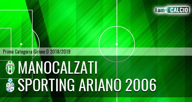 Manocalzati - Sporting Ariano 2006