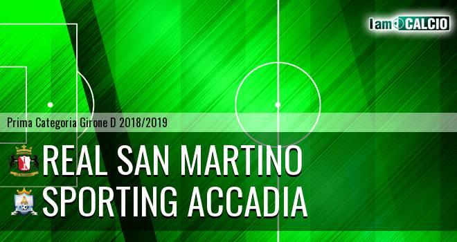 Real San Martino Valle Caudina - Sporting Accadia