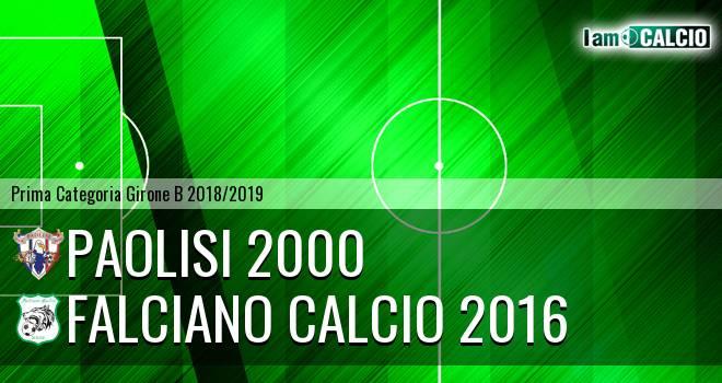 Paolisi 2000 - Falciano Calcio 2016