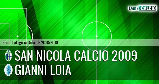 San Nicola Calcio 2009 - Gianni Loia