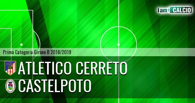 Atletico Cerreto - Castelpoto