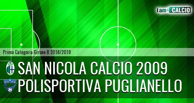 San Nicola Calcio 2009 - Polisportiva Puglianello 1-0. Cronaca Diretta 09/01/2019