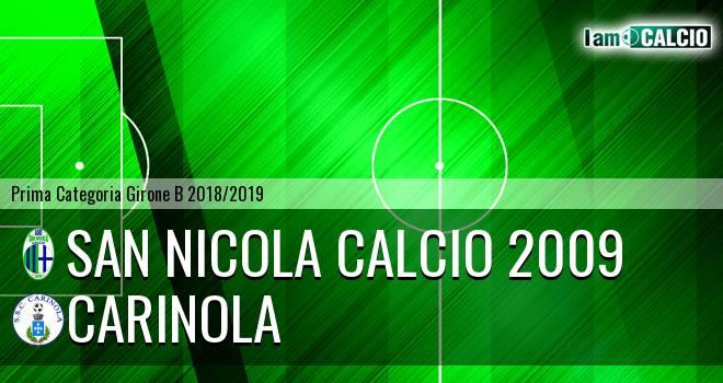 San Nicola Calcio 2009 - Carinola