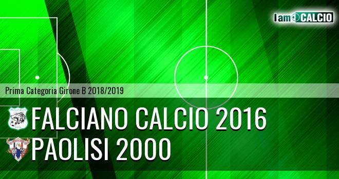 Falciano Calcio 2016 - Paolisi 2000