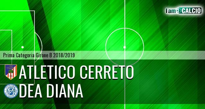 Atletico Cerreto - Dea Diana
