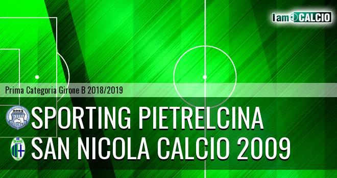Sporting Pietrelcina - San Nicola Calcio 2009