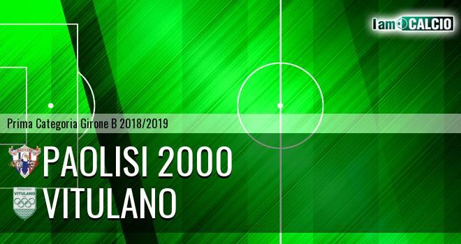 Paolisi 2000 - Vitulano