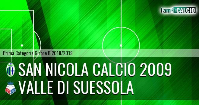 San Nicola Calcio 2009 - Valle di Suessola