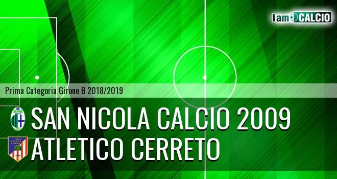 San Nicola Calcio 2009 - Atletico Cerreto