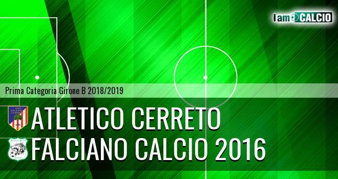 Atletico Cerreto - Falciano Calcio 2016