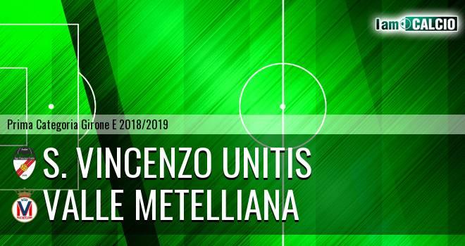 S. Vincenzo Unitis - Valle Metelliana