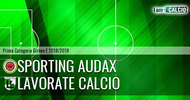 Sporting Audax - Lavorate Calcio